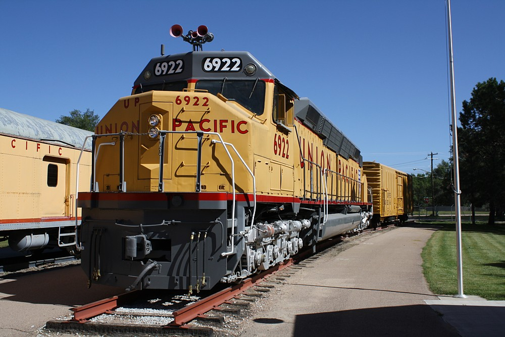 Union Pacific In North Platte Along The Rails